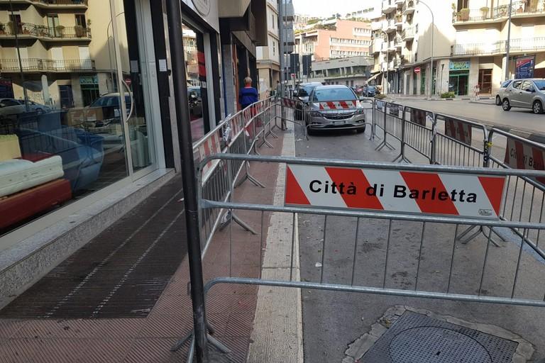 Calcinacci in via Monfalcone