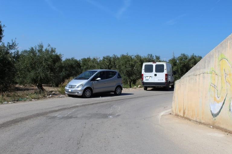 Incidente sulla complanare tra Barletta e Andria
