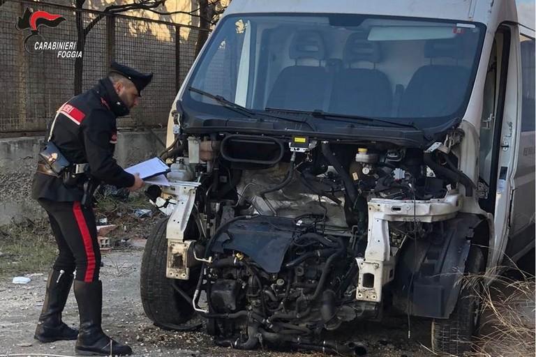 Veicoli rubati ritrovati dai carabinieri