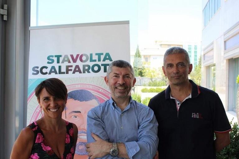 Scalfarotto presenta il programma con i coordinatori di ItaliaViva