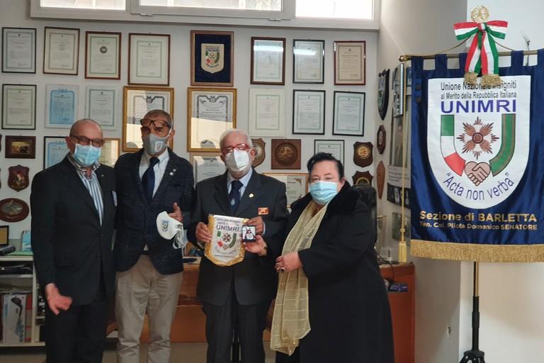 Dall'Unimri Barletta riconoscimento per Giuseppe Dicuonzo Sansa